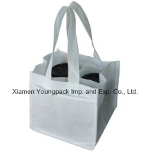 Eco-Friendly Reusable Non-Woven Cloth 4 Coffee Cups Carry Bag